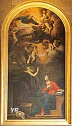 L'Annonciation (Philippe Quantin, XVIIe s.)