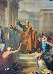 Saint Pierre prêchant à Rome