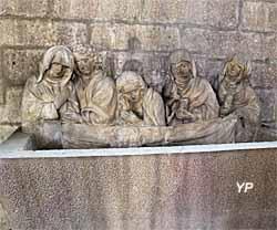 Mise au tombeau (XVe s.)