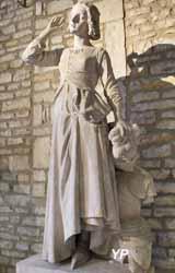 Jeanne d'Arc écoutant ses voix, jardin du Luxembourg (François Rude, 1845)