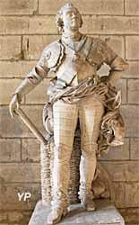 Le maréchal de Saxe, château de Versailles (François Rude, 1838)