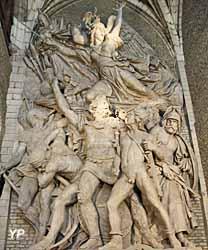 Départ des volontaires de 1792 (la Marseillaise), Arc de Triomphe (François Rude, 1835)
