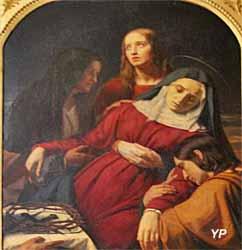 La Pâmoison de la Vierge (XIXe s.)