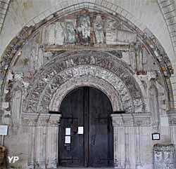 Porche roman du narthex (XIIe s.)