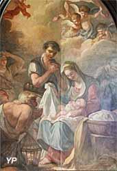 L'Adoration des bergers (Jean-Etienne de Lavallée Poussin, fin XVIIIe s.)