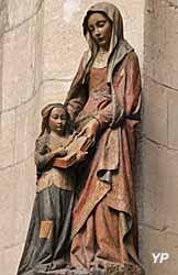 L'éducation de la Vierge par Sainte-Anne