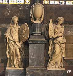 Tombeau d'Olivier et Louis Castellan (François Girardon, XVIIe s.)