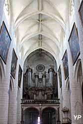 Nef et grandes orgues