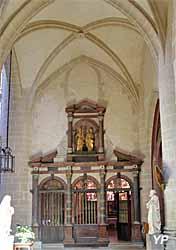 Entrée de la Sainte Chapelle (Hugues le Rupt, 1609-1612)