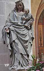 Vierge à l'enfant (école bourguignonne - XVe s.)
