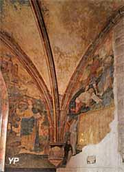 Peinture murale de la chapelle de Saint-Léger (XVe siècle)