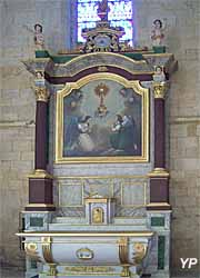 Église Saint-Pierre - retable du Saint Sacrement