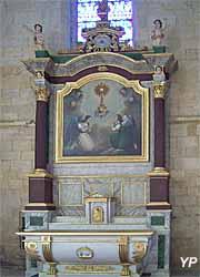 Église Saint-Pierre - retable du Saint Sacrement