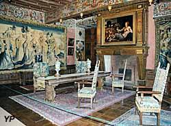Château de Bourdeilles - salon doré