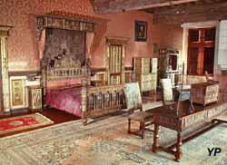 Château de Bourdeilles - chambre