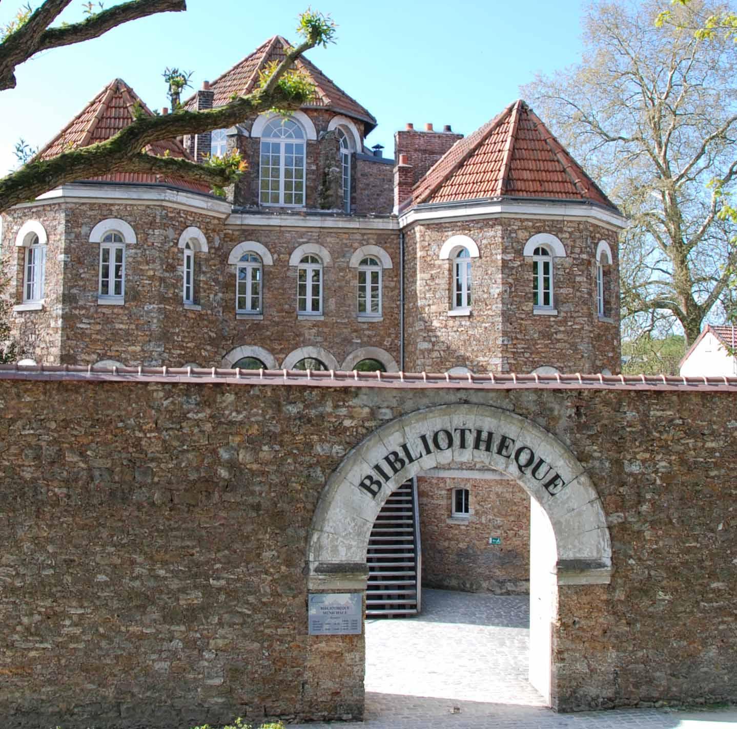 Bibliothèque municipale (Office de Tourisme de Coulommiers)