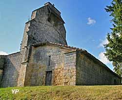 Eglise de Heux (doc. J.A. Somville)