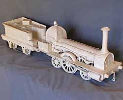 Locomotive en porcelaine