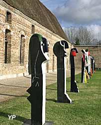 Parc de la galerie, sculpture de Jacky Coville