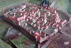 Maquette de la ville de Saverne vers 1640