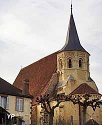 Eglise romane Saint Sébastien (Association du Patrimoine de Parly)