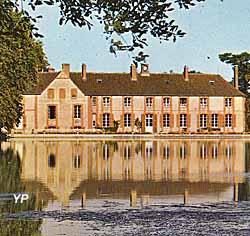 Etang et maison du Maître de Forges (doc. Gérard de Boisanger)