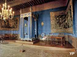 Château de Sully-sur-Loire - chambre du roi