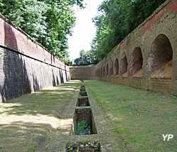 Fort de Leveau - caponnière