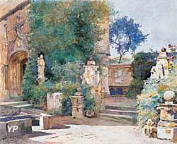 Cour intérieure du musée Tavet (Louis Jimenez y Aranda, 1906)