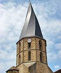 Flèche torse de l'église Saint-Sauveur