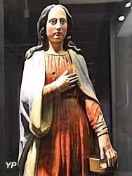 Politiques sociales - sainte Barbe, patronne des mineurs