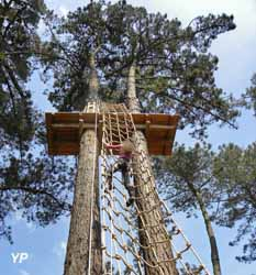 Vivons perchés - Parcours Aventure en forêt (doc. Vivons perchés)