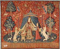 Tenture de la Dame à la Licorne : A mon seul désir (entre 1484 et 1500)