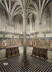 Chapelle de l'hôtel particulier des abbés de Cluny (édifiée vers 1490 par Jacques d'Amboise)
