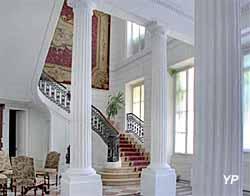 Hôtel Poupet - grand vestibule