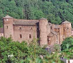 Château de Coupiac (Syndicat d'initiative des 7 Vallons)