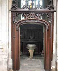 Eglise Saint-Jacques - chapelle des fonts baptismaux