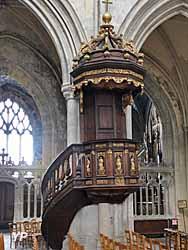 Eglise Saint-Jacques - chaire