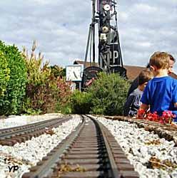 HistoRail, musée du chemin de fer - réseau extérieur