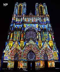 Cathédrale Notre-Dame de Reims, son et lumière Rêve de couleurs