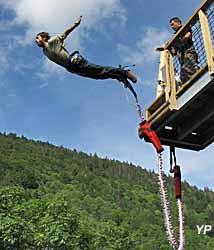 Bol d'Air Aventure - saut à l'élastique