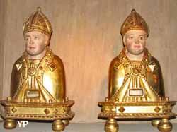 Trésor de l'église Saint-Pierre - reliquaires de Saint Martin et de Saint Fulgence