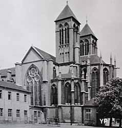Basilique Saint-Vincent - chevet