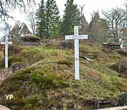 Le champ de bataille (collection Mémorial du Linge)