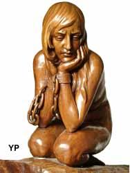 L'Opprimée (René Davoine) (Musée du Prieuré)