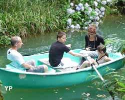 Moulin de Poyaller - promenades en barque