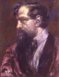 Portrait de Claude Debussy (Henry de Groux, 1909)