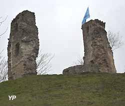 ruines du château de Montfort (tour Anne-de-Bretagne) (doc. Yalta Production)