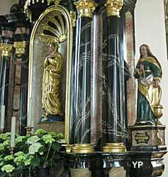 Autel de gauche ou de l'évangile