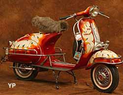 Musée de la Moto et du Vélo - scooter Vespa